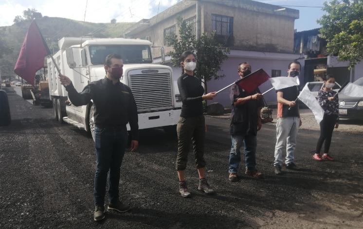 Iniciamos con el programa de repavimentación de calles en la capital del estado: Ponce