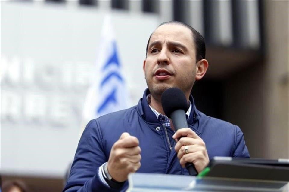 El PAN vigilará que intentos de autoritarismo no se lleven a cabo en México: Marko