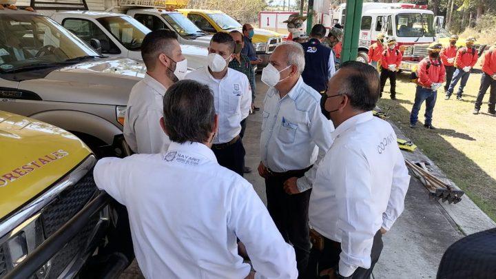 El Ayuntamiento de Tepic ofrece su colaboración y Esfuerzo Para Combatir Incendios: Arce
