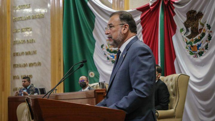 Deja presidencia del Congreso diputado Leopoldo Domínguez González