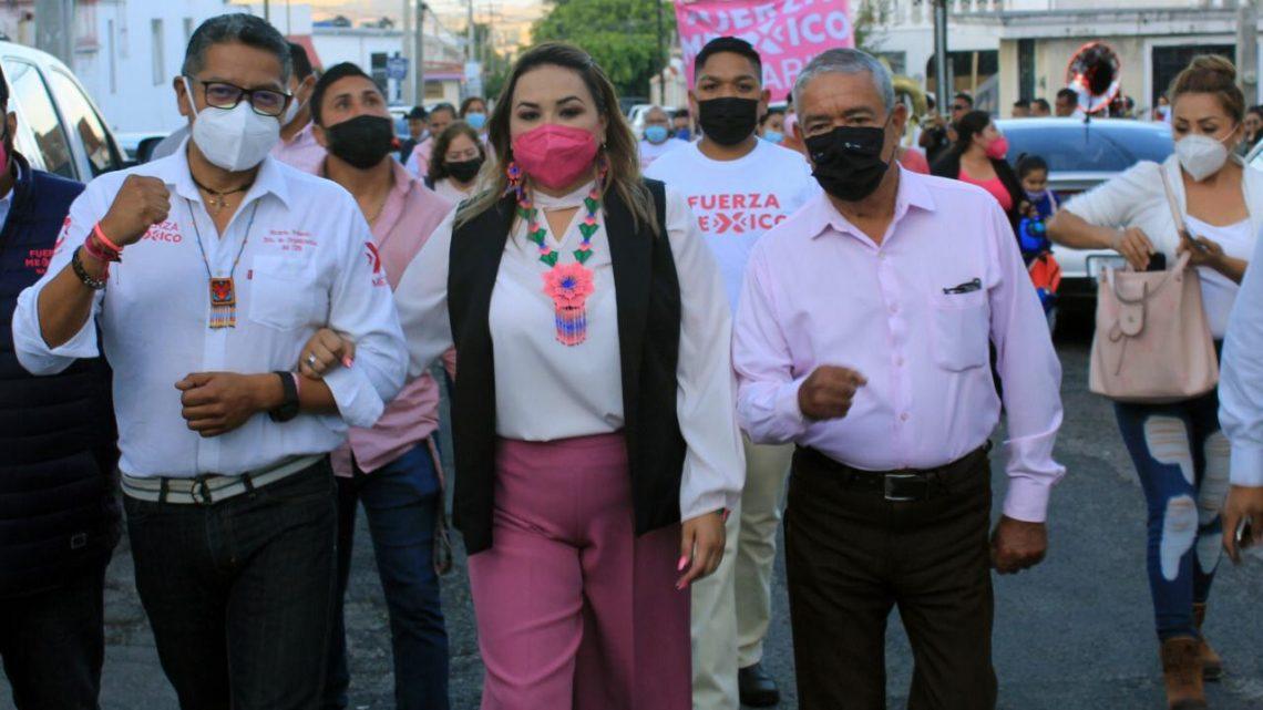 Fuerza por México registró a su candidata de origen indígena para gobernadora de Nayarit