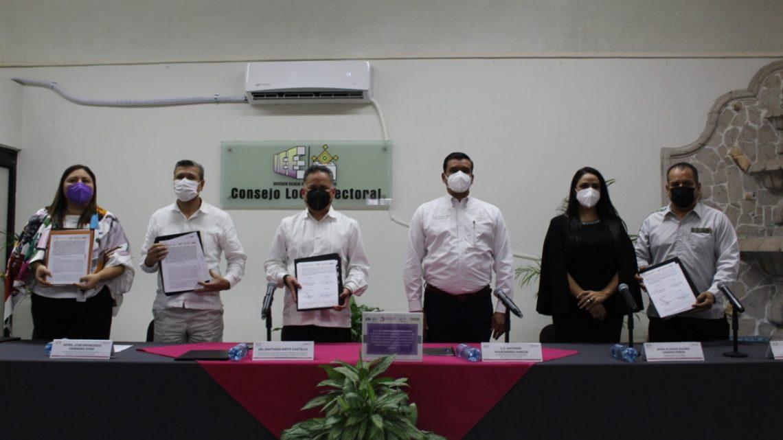 Blindamos con autoridades hacendarias el proceso electoral 2021 contra la corrupción: Cermeño