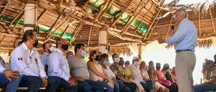 Junto a Pescadores Vamos a Dignificar al Sector: Miguel Ángel Navarro.