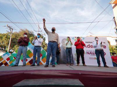 Rescatará Miguel Ángel Navarro Quintero, el tren de Ruiz