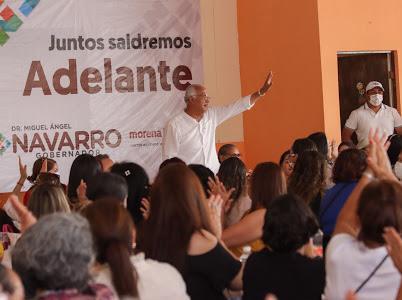 Compostela será centro de desarrollo económico: Navarro Quintero