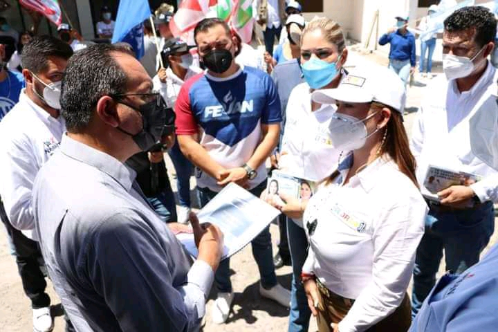 Firma Gloria Núñez agenda mínima ciudadana impulsada por COPARMEX Nayarit