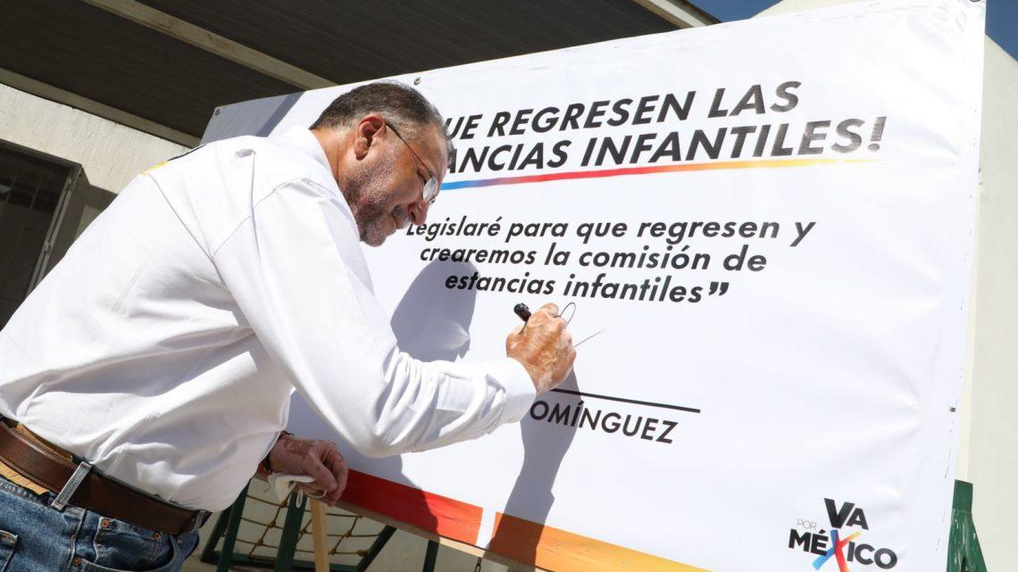 Vamos a recuperar el recurso económico para las estancias infantiles: Polo Domínguez