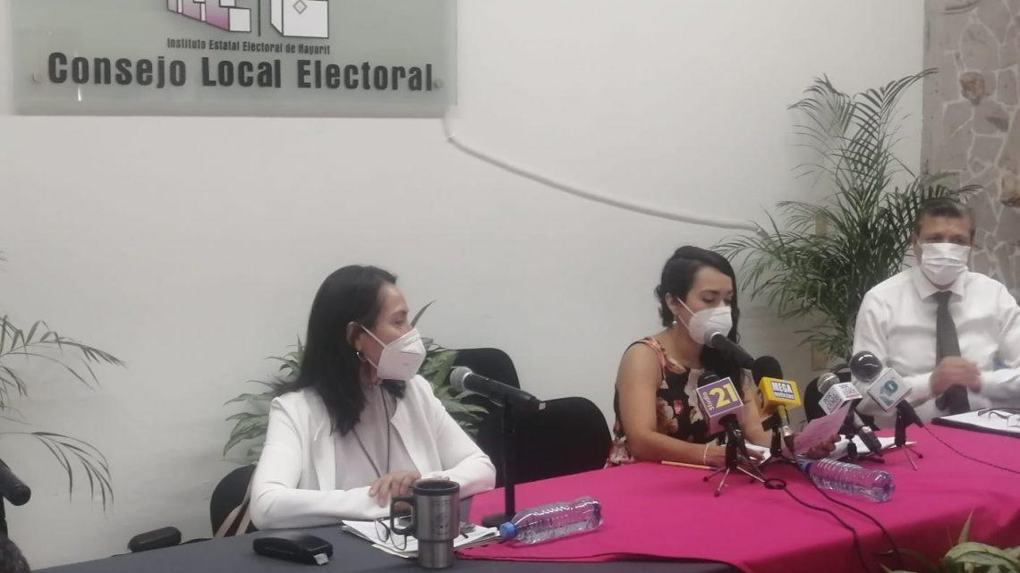 El 24 de mayo a las 17:00 horas debatirán candidatas y candidatos a la alcaldía de Tepic: Carrillo