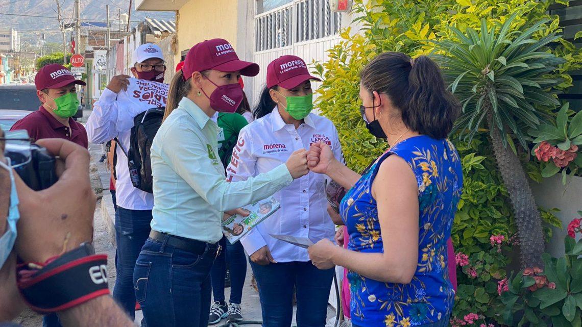 Gestión, trabajo y compromiso para sacar a Tepic adelante: Jasmin Bugarín