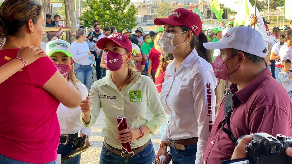 Tarifas justas de CFE y agua potable en Tepic, es un proyecto que apoyaré sin dudar: Jasmin Bugarín