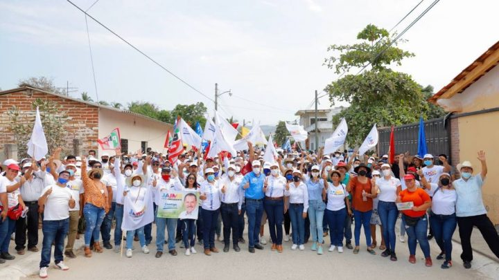 Afirma CEN del PAN que Jaime Cuevas terminará su campaña con 14 puntos de ventaja: Tejeda