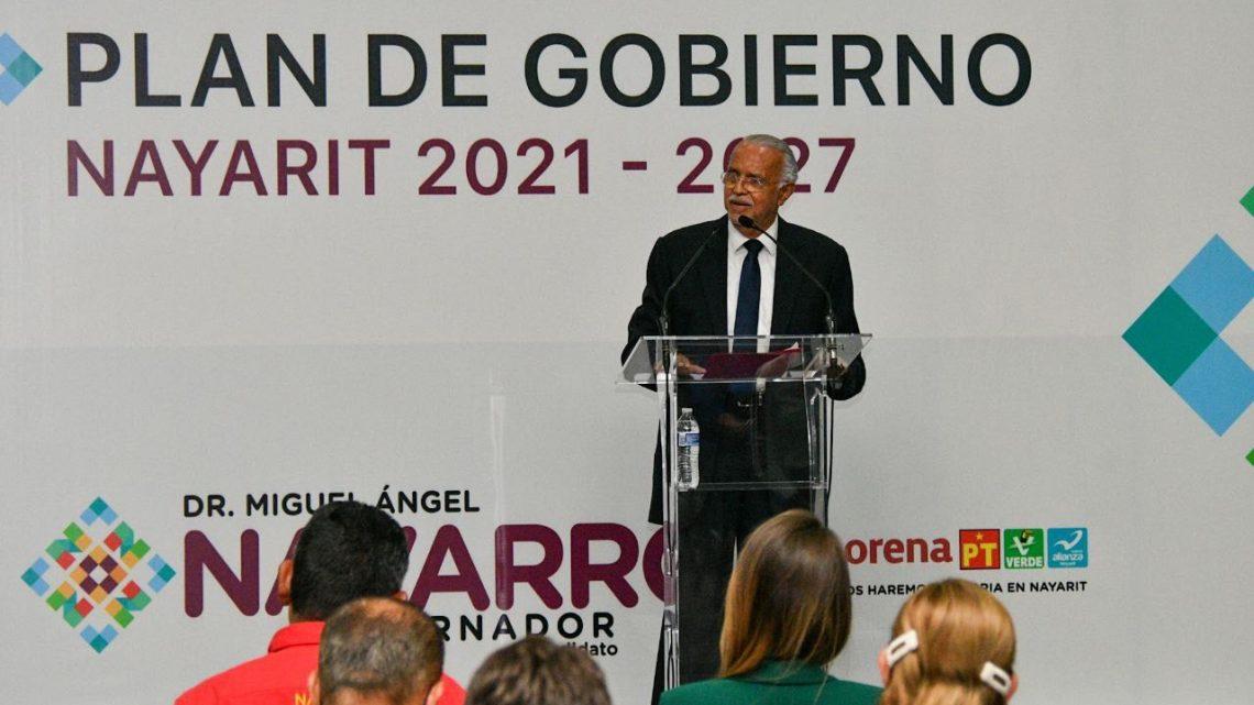 Conectar Nayarit con el mundo para detonar su crecimiento. Miguel Ángel Navarro Quintero.