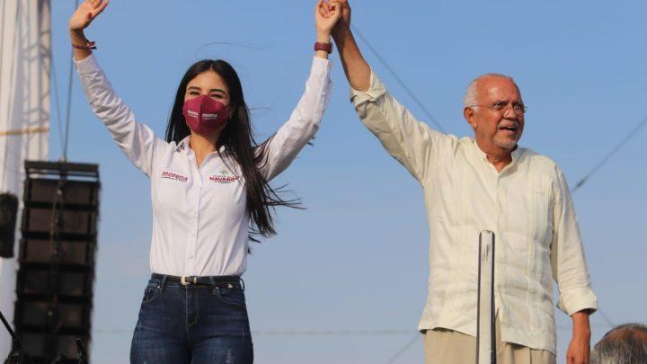 Miles de personas en cierre de campaña del Dr. Navarro Quintero