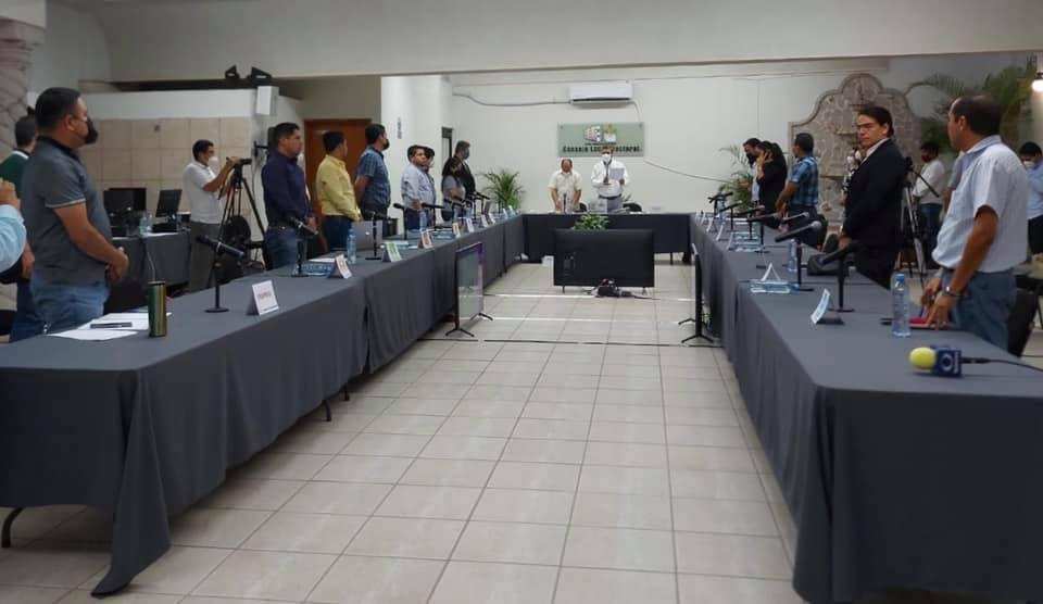 Culmina Sesión Especial Permanente del Consejo Local Electoral, con motivo de la jornada electoral