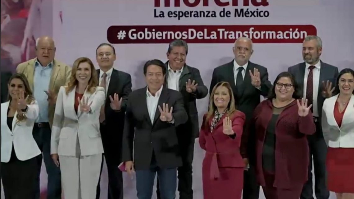 La coalición Juntos Hacemos Historia es la mayoría del pueblo de México: Delgado