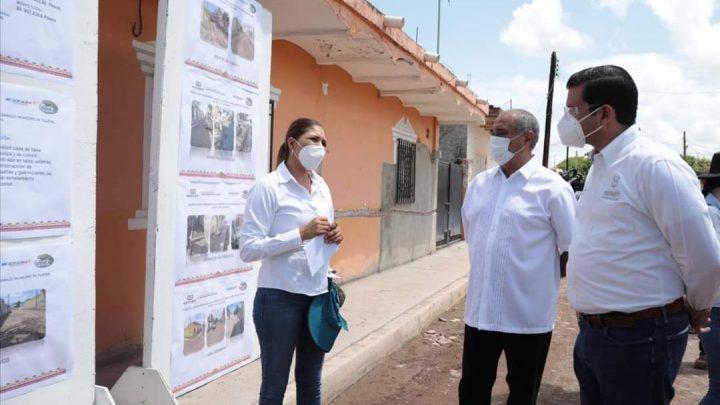 Antonio Echevarría García entregó obras de infraestructura al municipio de Tuxpan